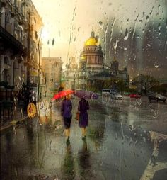 Brew up a cup of tea, prop open a book, and cue the rainy day music. Petersburg-based photographer Eduard Gordeev captures cityscapes in the rain. While rainy days can inspire meditation and. Cityscape Photography, Photography Words, Street Photography, Amazing Photography, City Rain, Rainy City, I Love Rain, Under The Rain, Rainy Night