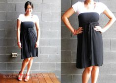 Convertible pieces - Intimo skirt/dress worn with a t-shirt underneath