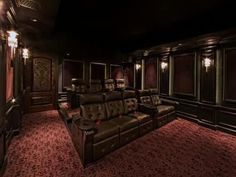 Basement home theater design ideas to enjoy your movie time with family and frie… – Trendry Movie Room Decor – Hometheaters At Home Movie Theater, Home Theater Setup, Home Theater Speakers, Home Theater Rooms, Home Theater Seating, Home Theater Design, Home Theater Projectors, Acoustic Fabric, Basement Movie Room