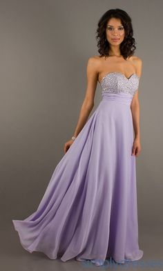 www.simplydresses.com Strapless Sweetheart Floor Length Dress