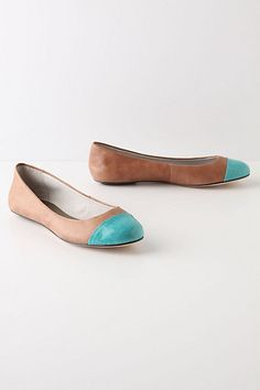 turquoise toe >> I LOVE these shoes! by Anthropologie