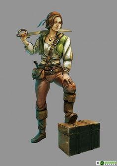 Seefahrerin aus Granden, Gaukler und Gelehrte