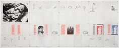 Eugenio Dittborn: To travel, Airmail painting No. 76, 1990