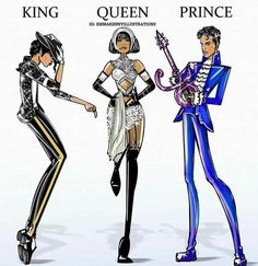 And these three shall forever be music royalty, and no one will ever, ever replace them. Never.