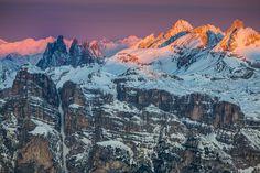 Winter - Die Dolomiten http://fc-foto.de/37669541