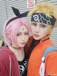 Sakura y Naruto Naruto E Boruto, Narusaku, Naruhina, Anime Naruto, Naruto Shippuden, Vocaloid Cosplay, Cosplay Anime, Naruto Cosplay, Cosplay Boy