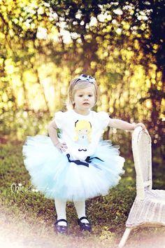 Alice in Wonderland Tutu, Baby Tutu, Photo Prop, Childrens Toddler Infant Tutu, Halloween Costume, Alice in Wonderland Birthday on Etsy, $36.00
