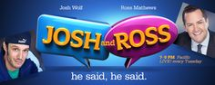 The Toad Hop Network: Radio Worth Watching: Josh and Ross Episodes Guide