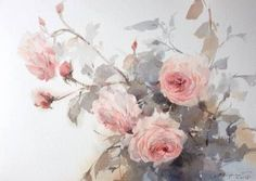 「Watercolor-Rhythm of flowers no.1 by Phatcharaphan Chanthep」の画像検索結果