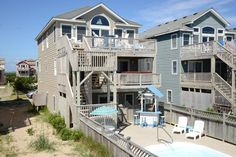 Nags Head Vacation Rental: OBX Jewel 821    Outer Banks Rentals