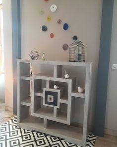 """23 mentions J'aime, 2 commentaires - Pousses de carton (@nathaliegloanec.ng) sur Instagram : """"My home Carrément : meuble en carton decoratif. #meubles #cartons #design #decoration…"""""""