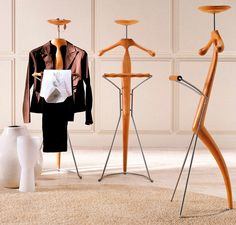 12 Valet Stands for the Organized Sartorialist - Core77The traditional valet stand has the features you see on the Sir Bis from Porada, designed by Marconato & Zappa: a place to hang a suit jacket, shirt and pants, along with a tray for things like glasses, a watch, cufflinks, a wallet, etc.