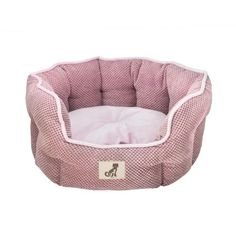 This luxury pink Alfie soft dog and cat bed will keep your pet warm and cosy. The eco-friendly soft fleece lining is a dream for all animals. Pink Dog Beds, Cute Dog Beds, Cheap Dog Beds, Bolster Cushions, Archie, Bassinet, Cosy, Pets, Pink Soft
