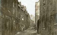 """'Dirty Old London': A History Of The Victorians' Infamous Filth Historian Lee Jackson spoke to Fresh Air producer Sam Briger about what it was like to walk around Victorian London: """"The first thing you'd notice if you stepped out onto the streets. Victorian London, Victorian Street, Victorian Life, Vintage London, Photos Du, Old Photos, Vintage Photos, London Photos, Old London"""