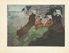 Jacques Villon, Les Femmes d'Ouessant