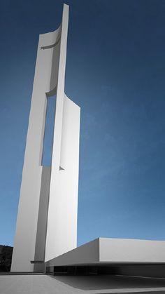 Wind Tower, Fran Silvestre, Valencia, Spain Fran Silvestre, Valencia Spain, Architects, Tower, Inspired, Fashion Design, Home Decor, Style, Swag