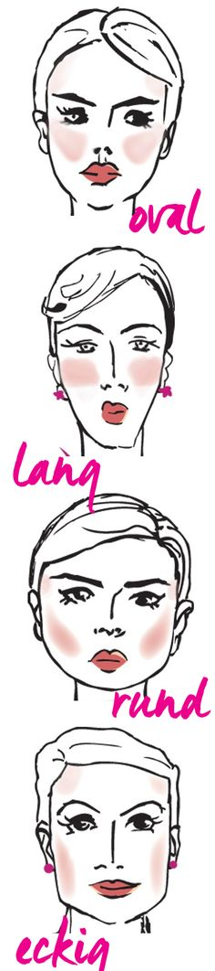 Rouge richtig auftragen: So findest du den passenden Blusher für deine Gesichtsform. Alle Infos auf www.gofeminin.de/make-up/rouge-auftragen-d24079.html