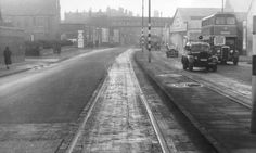 Rice Lane, looking towards Walton Vale from Hornby Road, 1952