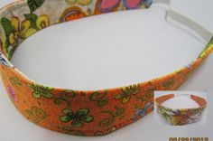 Headbands Reversible Girls Spring by simplynotesandtotes on Etsy, $8.00
