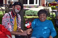 Flower the Clown delighted guests at the 16th annual Eliza Jennings Home balloon launch with his repertoire of creative creations.