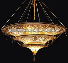 Venetian Style Fabric Shade Pendant Lamp ZD1301G, View Venetian Pendant lamp, Great Beam Product Details from Greatbeam Electricity Co., Ltd. on Alibaba.com