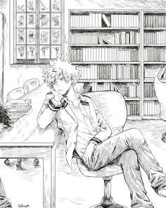 """Una specie di instagram di Kacchan XD """"Che hai da guardare?! Vattene… #casuale # Casuale # amreading # books # wattpad"""
