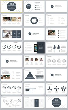 24+ Best white business design PowerPoint template