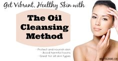 awesome The Oil Cleansing Method for Healthy Vibrant Skin. I use grape seed oil and castor oil. My skin is oily so I add less castor oil. This works. Diy Makeup Homemade, Homemade Beauty, Homemade Essential Oils, Young Living Essential Oils, Natural Skin Care, Natural Oil, Natural Healing, Natural Beauty, Oil Cleansing Method