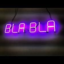 BLA BLACK - NEON LIGHT SIGN sнıɴᴇ ʟıκᴇ тнᴇ sтᴀʀs✧