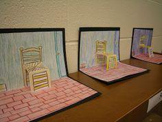 Artolazzi: Van Gogh Pop Up Chairs