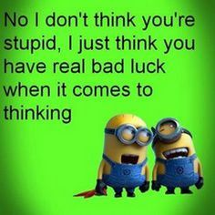 Friendship Quotes QUOTATION – Image : As the quote says – Description Minions Quotes Top 370 Funny Quotes With Pictures Sayings 31 Funny Minion Memes, Minions Quotes, Funny Jokes, Hilarious, Minion Humor, Madea Funny Quotes, Funny Sayings, Minion Photos, Minions Images