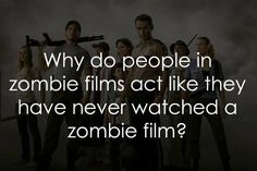 Because in the Walking Dead universe, Zombies were never mentioned. They were never brought up as a legitimate thing. Not even in history, research, fiction, etc. By saying Zombies were a totally new thing, it brought even more panic which help set the setting and all in the TV series and the Spinoff. It would explain why the military was so trigger happy in the hospital when Shane was there with Rick. Cause in real life, they wouldn't just go shooting up hospitals to be honest.
