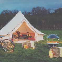 Glampit bell tent - Meet @glampit at the Farm Business Show and see what they and their stunning products can do for you! Apply for your free tickets at www.farmbusinessshow.co.uk