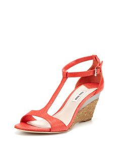 c1b0d5a3c042 St. Razza Wedge Sandal by Miu Miu at Gilt