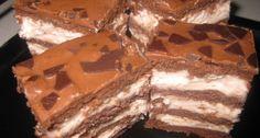 Csokis mézes puncskrém szelet recept