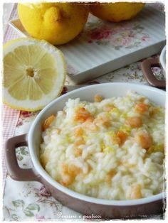 Risotto gamberi e limone | pensieri e pasticci