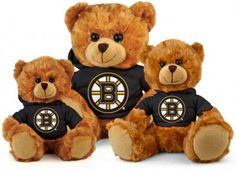 Boston Bruins Hoodie Bear - Plushland....  VERY cute stuffies on this site