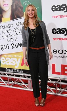 Kudrow looked casual yet fabulous at the premiere of