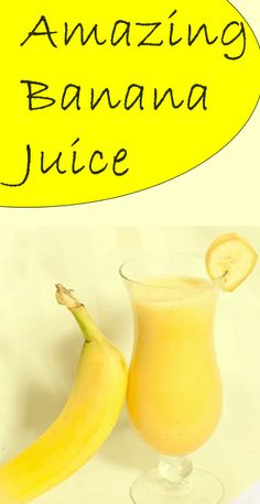 Banana juice is easy to make, and since it got amazing health benefits, if you include it in your nutrition, in just couple of days you will notice the incredible positive changes. #health #nutrition #natural