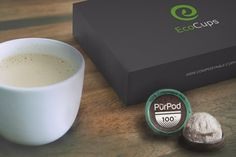 EcoCups Coffee is the first to offer 100% Compostable Coffee Pods in a monthly variety pack.