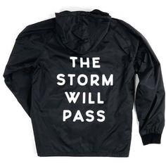 Title Rain Jacket ($45) ❤ liked on Polyvore featuring outerwear, jackets, rain jacket, lightweight jackets, full zip jacket, coach jacket and light weight rain jacket