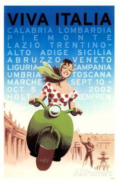 Viva Italia Masterprint sur AllPosters.fr