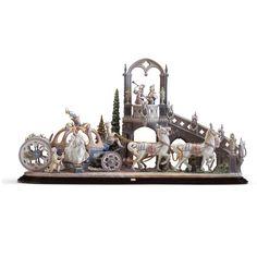 Lladro Porcelain Figurine Cinderella's Arrival