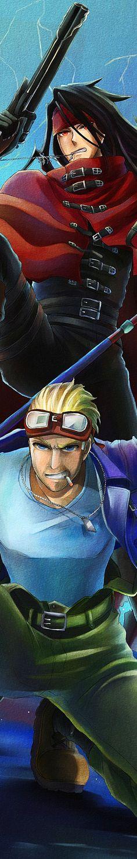 Vincent & Sid - Final Fantasy VII
