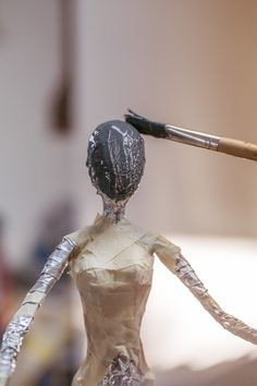 Gallery - Paverpol What's Art ? To answer the question of what is art history, Paper Clay, Clay Art, Paper Art, Paper Mache Crafts, Doll Crafts, Paper Mache Sculpture, Sculpture Art, Clay Dolls, Art Dolls