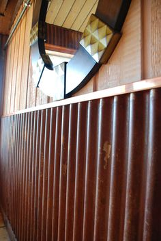 Corrugated Metal For Interior Walls Wainscot 1 1 4