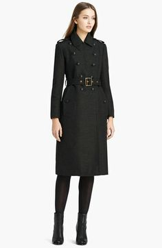 Burberry Brit 'Swifton' Double Breasted Trench Coat available at #Nordstrom