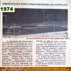 IJUÍ - RS - Memória Virtual: Associação dos Funcionários da COTRIJUí - AFUCOTRI...