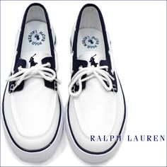 Ralph Lauren deck shoes - #nautical