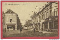 Jette-Saint-Pierre - Rue Léon Théodore - Tram  ( voir verso )